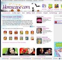 horoscope.com screenshot