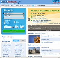 hostelbookers.com screenshot
