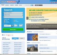 hostelbookers.com screenshot