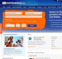 hostelworld.com screenshot