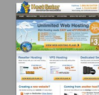 hostgator.com screenshot