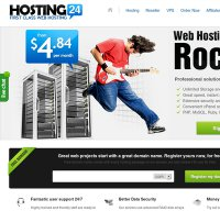hosting24.com screenshot