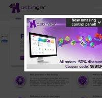 hostinger.co.uk screenshot