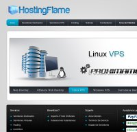 hostingflame.org screenshot