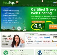 hostpapa.ca screenshot