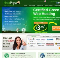 hostpapa.com screenshot