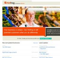hotfrog.com screenshot