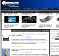 hothardware.com screenshot