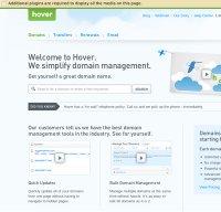 hover.com screenshot