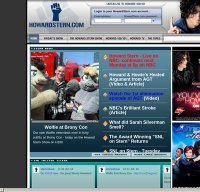 howardstern.com screenshot