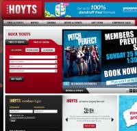 hoyts.com.au screenshot