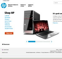 hp.com screenshot
