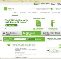 hrblock.com screenshot