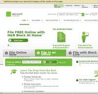 hrblock.com screenshot