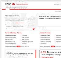 hsbc.ca screenshot