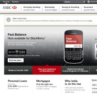 hsbc.co.uk screenshot