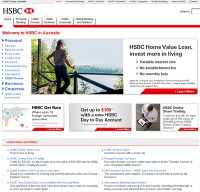 hsbc.com.au screenshot