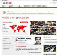 hsbc.com screenshot