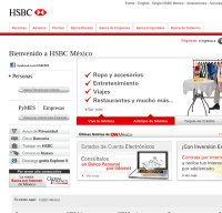 hsbc.com.mx screenshot