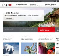 hsbc.fr screenshot