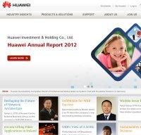 huawei.com screenshot