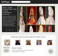 hubpages.com screenshot