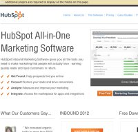 hubspot.com screenshot