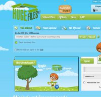 hugefiles.net screenshot