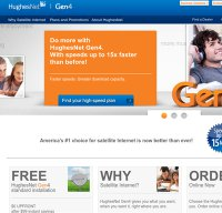 hughesnet.com screenshot