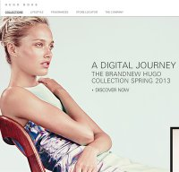 hugoboss.com screenshot