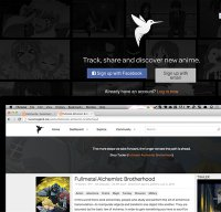 hummingbird.me screenshot