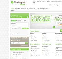 huntington.com screenshot