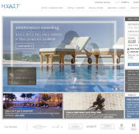 hyatt.com screenshot