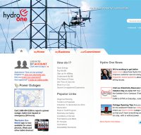 hydroone.com screenshot