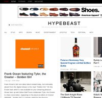 hypebeast.com screenshot