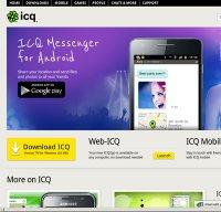 icq.com screenshot