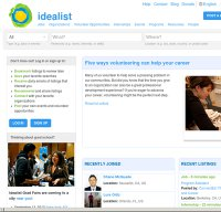 idealist.org screenshot