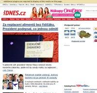idnes.cz screenshot