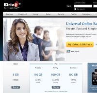 idrive.com screenshot
