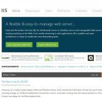 iis.net screenshot