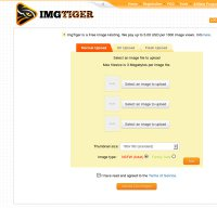imgtiger.com screenshot