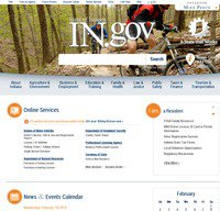 in.gov screenshot