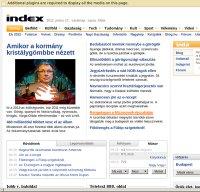 index.hu screenshot