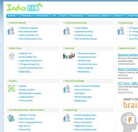 indiabix.com screenshot