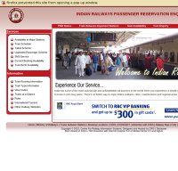 indianrail.gov.in screenshot