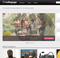indiegogo.com screenshot