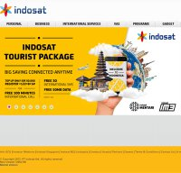 indosat.com screenshot