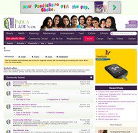 indusladies.com screenshot
