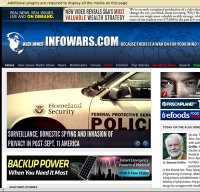 infowars.com screenshot