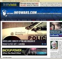 infowars.com screenshot